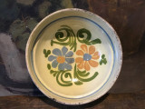 Arta / Rustic / Decor - Veche farfurie de Corund realizata si decorata manual !