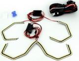 LED ANGEL EYES compatibil E90 E92 E93 F30 fara lupa. Lumina alb. Cod: LEDAE01 12V