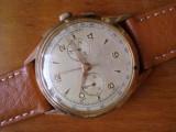 Cronograf mecanic aur 18K mecanism Lemania 1270