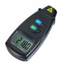 Laser Pentru Măsurare Digitala Fara-Contact Poza Tahometru RPM cu LED