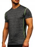Tricou negru bărbați Bolf KS2104