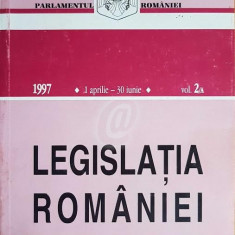 Legislatia Romaniei, 1 aprilie-30 iunie 1997, vol. 2/A