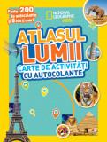 Atlasul lumii. Carte de activități cu autocolante