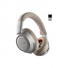 Casca Bluetooth Plantronics Voyager 8200 UC, Microfon, Adaptor USB, White - PLB00109