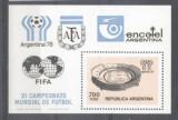 Argentina 1978 Sport FIFA Soccer Footbal perf. sheet Mi.B20 MNH M.208