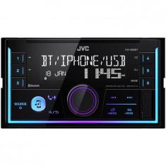 Player auto KW-X830BT, 2DIN, 4x50W, USB, AUX, Bluetooth, Culori variabile