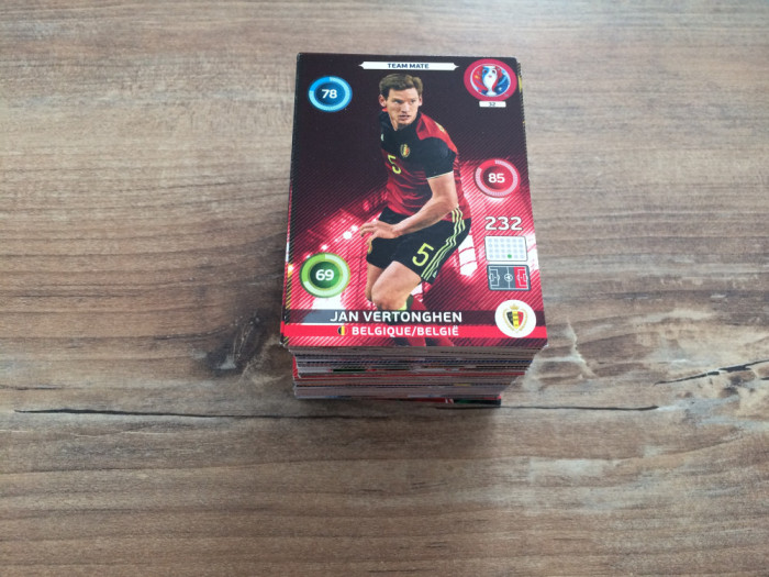 Panini Euro 2016 Adrenalyn XL Set 140 carduri Team Mates diferite