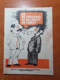 brosura - nu va prescriu sa va lasati de fumat - anii '70