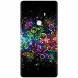 Husa silicon pentru Xiaomi Mi Mix 2, Rainbow Colored Soap Bubbles