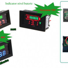 Voltmetru Auto indicator nivel baterie 12V sau 48V