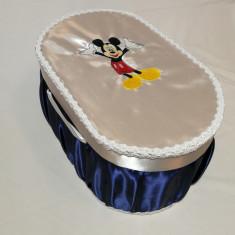 Cutie / cufar pentru trusou de botez Disney - MICKEY MOUSE