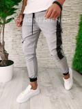 Pantaloni pentru barbati - slimfit - casual  - LICHIDARE STOC - A5433