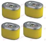 Pachet promotional 4 Buc cartus filtru aer generator HONDA GX160 - GX200