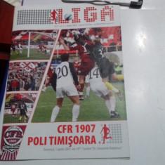 program          CFR  Cluj   -  Poli  Timisoara