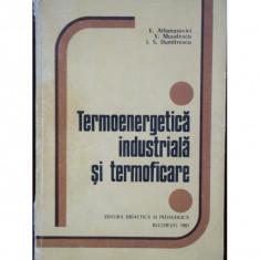 TERMOENERGETICA INDUSTRIALA SI TERMOFICARE