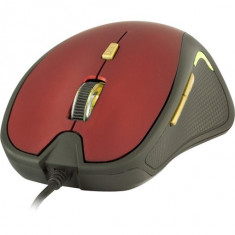 Yenkee, DAKAR, Mouse cu Fir USB, Rosu