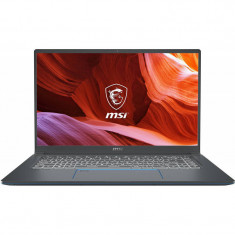 Laptop MSI Prestige 15 A10SC 15.6 inch UHD Intel Core i7-10710U 16GB DDR4 512GB SSD nVidia GeForce GTX 1650 4GB Black foto