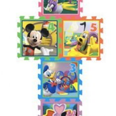 Covor puzzle din spuma Sotron Minnie & Mickey Mouse 8 piese, Knorrtoys
