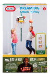 Jucarie Little Tikes Totsports Attach Play Basketball