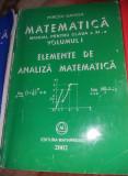 MATEMATICA MANUAL PENTRU CLASA A XI-A-Mircea Ganga (3 volume),T.GRATUIT