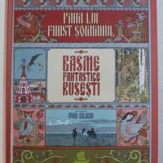 PANA LUI FINIST SOIMANUL - BASME FANTASTICE RUSESTI , ilustratii de IVAN BILIBIN , 2018