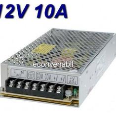 Sursa Alimentare in Comutatie pentru Camere Video CCTV 10A