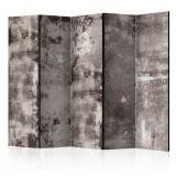 Paravan din 5 parti - Tencuiala veche - 225 x 172 cm, Artgeist
