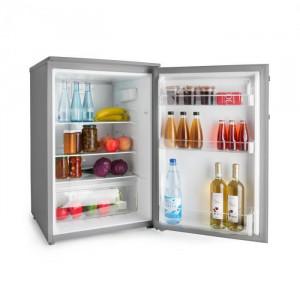 Klarstein Springfield Eco, frigider, A+++, sertar pentru legume, 2 etaje, inox