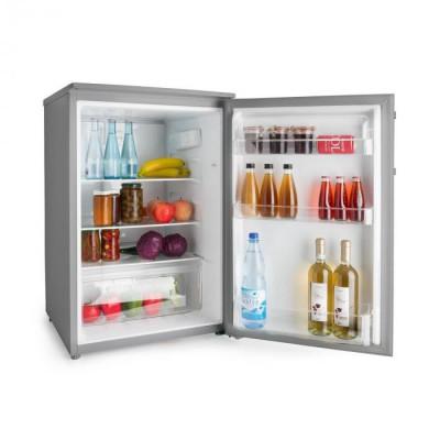 Klarstein Springfield Eco, frigider, A+++, sertar pentru legume, 2 etaje, inox foto