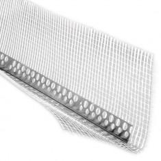 Profil colt aluminiu cu plasa 3 M 70mm x 70mm