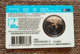 2 euro 2021, Franța, comemorativă, blister (BU), tiraj: 10.000