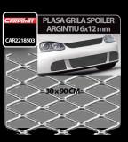 Plasa grila spoiler Carpoint Argintiu - Medium 6x12 mm - 90X30 cm - CRD-CAR2218503 Auto Lux Edition