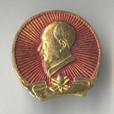 Insigna Personalitati - Dictator - Lider politic  - VIET NAM - Ho Chi Minh