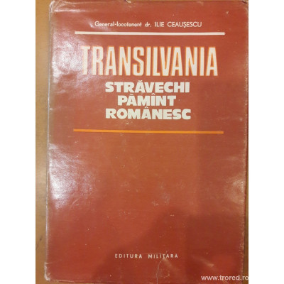 Transilvania stravechi pamant romanesc foto