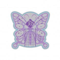 Sabloane pentru unghii U2-8, model fluture