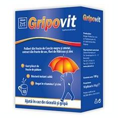 Gripovit Zdrovit 10pl Cod: zdro00057