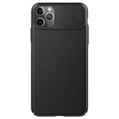 Carcasa Nillkin Cam Shield compatibila cu iPhone 11 Pro Black