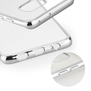 Husa SAMSUNG Galaxy S6 Edge - Electro (Argintiu)