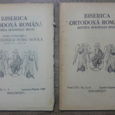 Biserica Ortodoxa Romana, buletinul oficial al Patriarhiei/ 1947