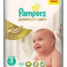 Pampers Scutece Nr 3 Premium Care 5-9 kg 80 buc