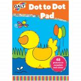 Dot to Dot Book - Carte Uneste Punctele - Ratusca, Galt