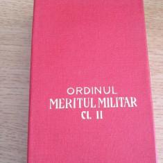 MCP1 - DECORATIE MILITARA COMUNISTA - ORDINUL MERITUL MILITAR CLASA II + BONUS!!