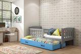 Pat pentru copii Kubus 200 cm/90 cm standard - 2 copii