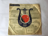 Disc de gramofon, Electrocord, Se ciocnesc doua pahare (in limba maghira), VINIL