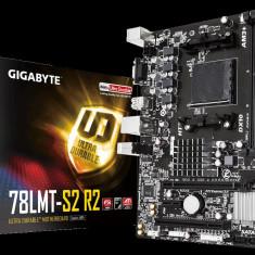Placa de baza GIGABYTE Socket AM3+, 78LMT-S2 R2, AMD 760G, 2* DDR3 1333(OC)/1066, VGA, 1*PCIEx16/ 1*PCIEx1/ 1*PCI, 6*SATA2 (RAID), 8*USB2.0 bulk