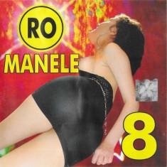 CD RO Manele 8 , original