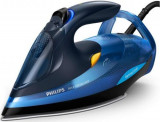 Fier de calcat Philips Azur Performer GC4932/20, Talpa SteamGlide Plus, 2600W, 0.35l (Albastru)