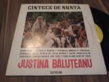 Cumpara ieftin DISC VINIL CINTECE DE NUNTA JUSTINA BALUTEANU RARITATE!!EPD1174STARE FOARTE BUNA