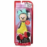 Papusa Minnie Mouse cu buline pretioase, 24 cm