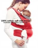 Marsupiu ergonomic Easy comfort Poppy red Wallaboo